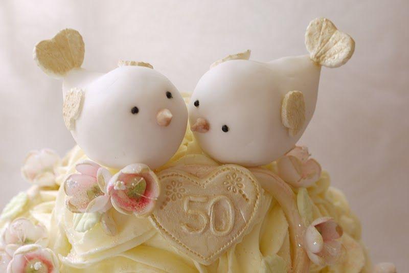 Cutest Wedding Birds