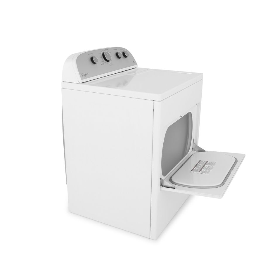 affordable shop whirlpool cu ft electric dryer with steam cycles white at lowes with dryers at lowes
