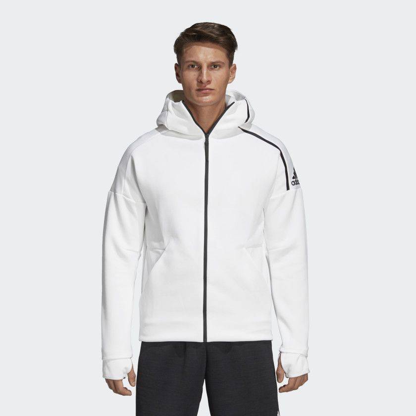 doce Descenso repentino Fiordo  adidas Z.N.E. Fast Release Hoodie - White | adidas US | Hoodies men, Hoodies,  Running jacket