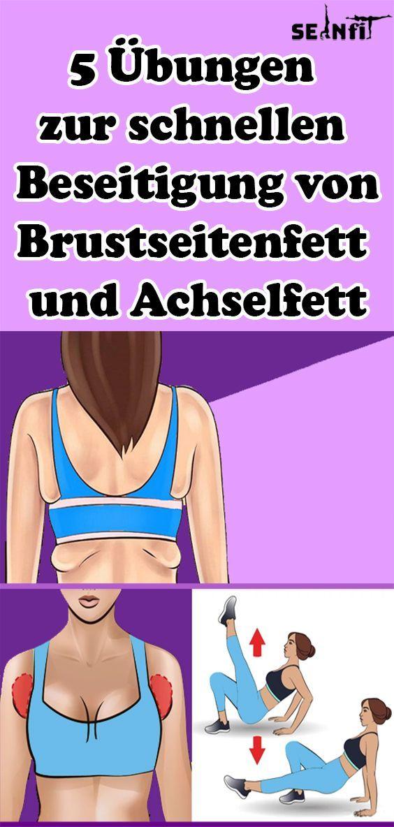 5 Übungen zur schnellen Beseitigung von Brustseitenfett und Achselfett   - Gesundheit und fitness -...