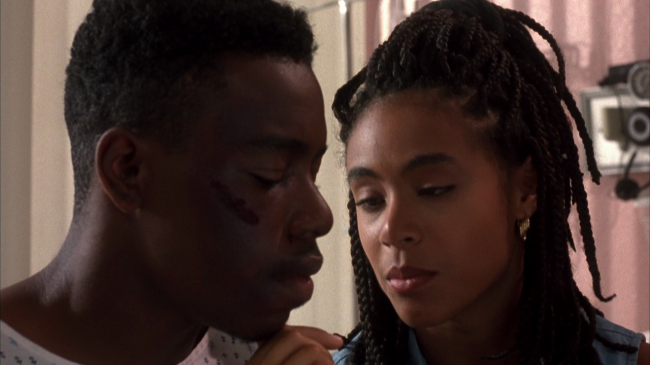20 years ago Jada was rocking box braids in Menace 2 Society.
