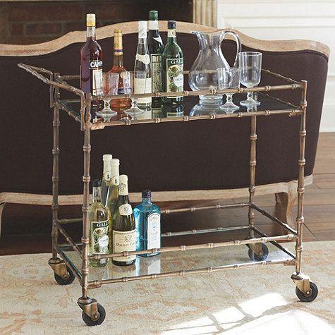 Jill Bar Cart | Bar carts, Bar and Room