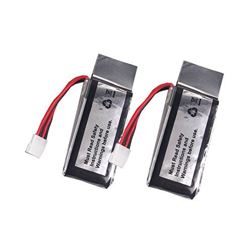 Wwman 2pcs 3.7V 350mah Batteries for UDI U818A WiFi FPV U845A U945 WiFi Rc Quadcopter Drone Spare Parts Battery *** Check out this great product.