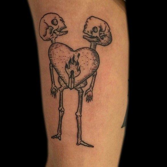 Flame Tattoos, Kaleidoscope Tattoo