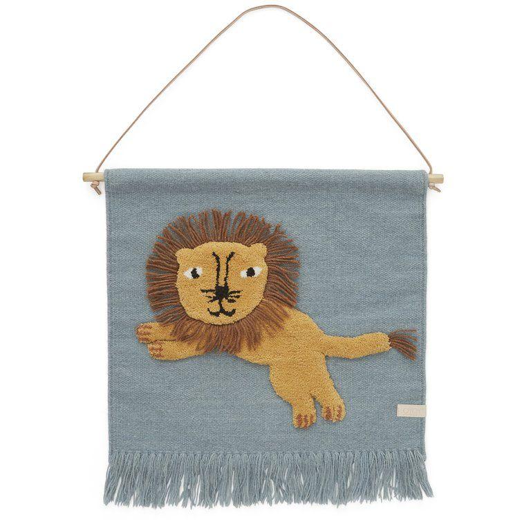 Oyoy Kinderzimmer Wandteppich 'Löwe