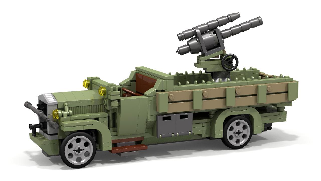 how to build lego ww2 vehicles