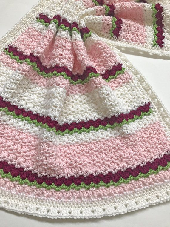Sweet, simple and easy to make crochet baby blanket pattern ...