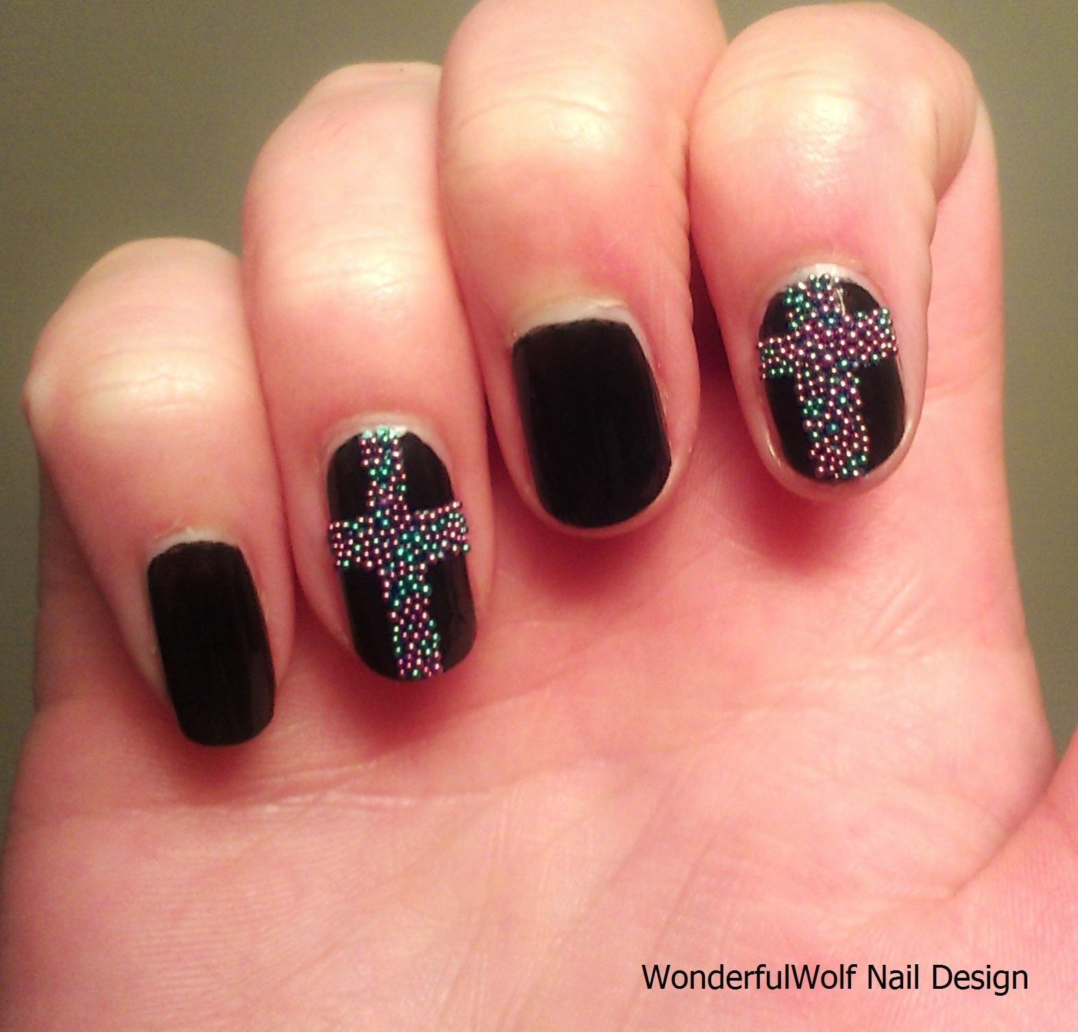 Nail Designs Cross ...   Nail Designs   Pinterest