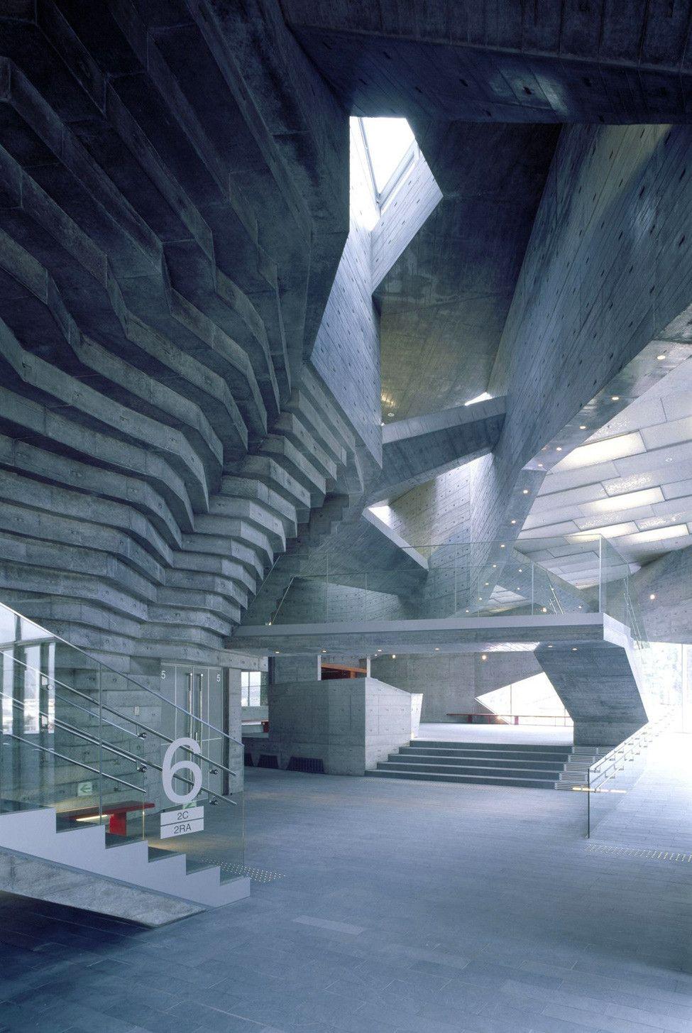 Общественный центр и библиотека в Японии — HQROOM