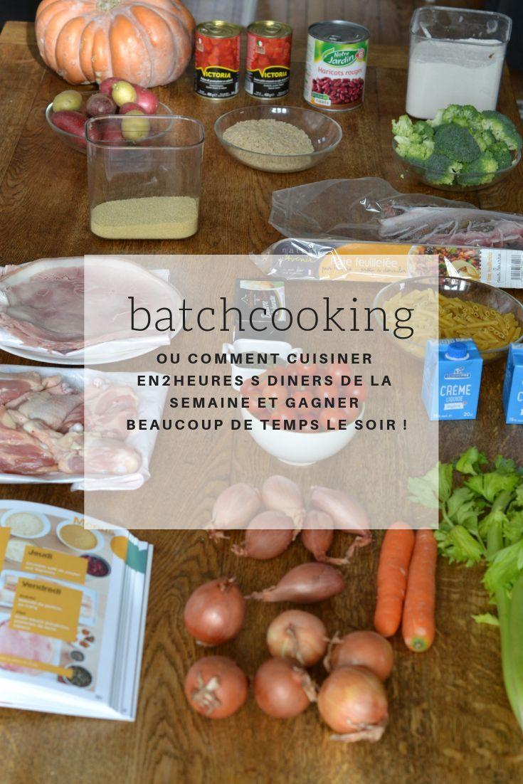 J 39 ai test le batchcooking ou comment cuisiner en 2h pour - Comment cuisiner les gnocchi ...