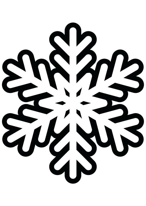 Image detail for -Snowflakes - Free Printable Coloring Pages ... | 842x595