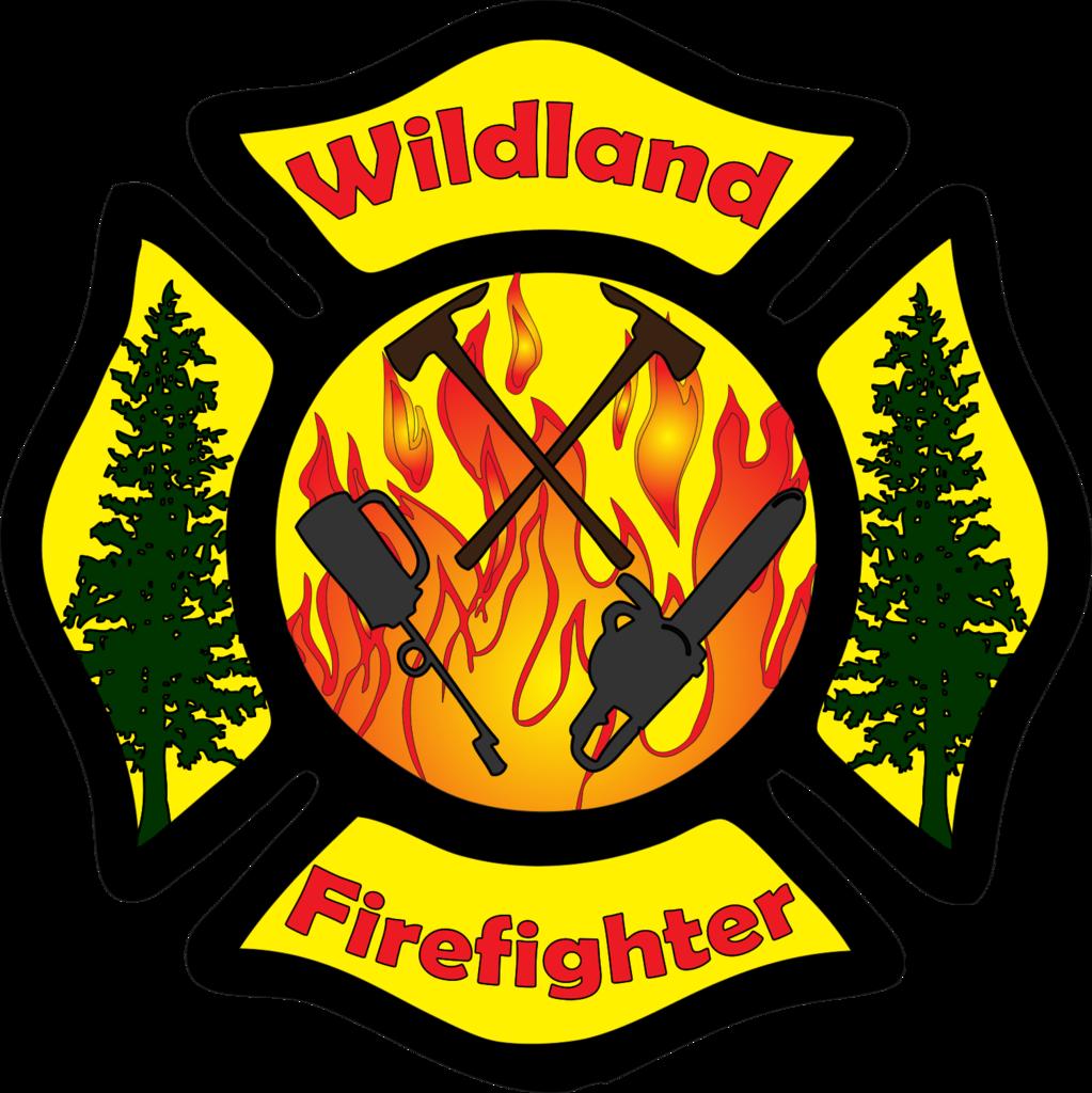 Wildland Firefighter Maltese Cross Decal Wildland