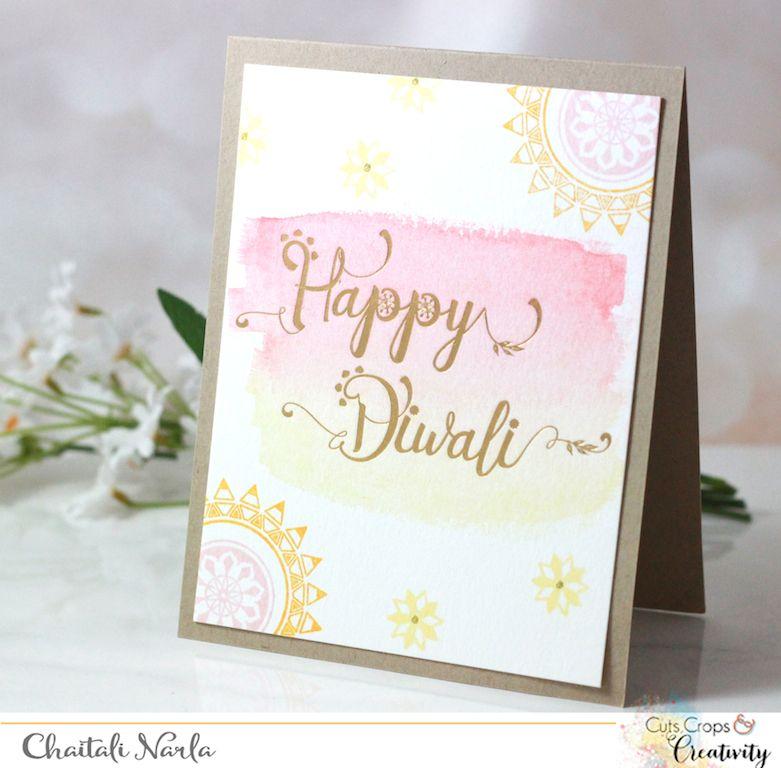 Diwali Cards Day 6 Diwali Cards Diwali Card Making Diwali Greeting Cards