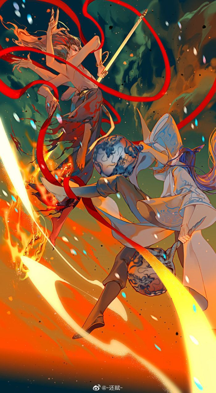 NeZha Wallpaper nezha wallpaper Anime, Chinese