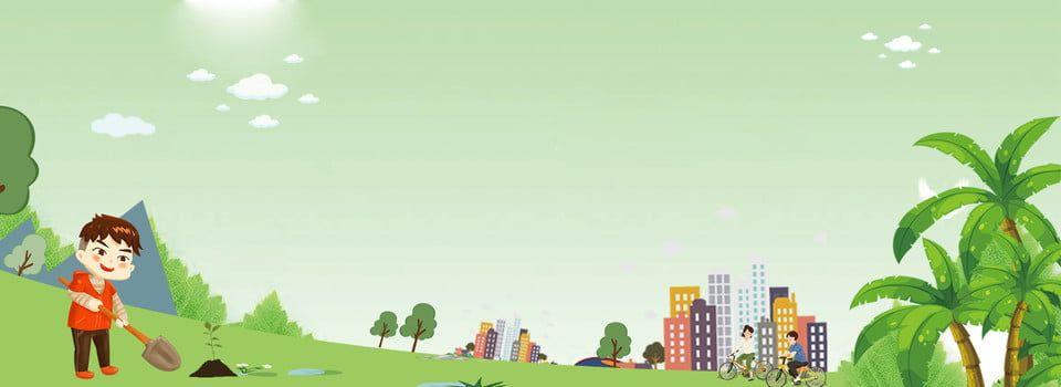بيئة زراعة الأشجار الاصطناعية الخضراء بسيطة حماية البيئة يوم الشجرة بسيط تركيب أخضر مدينة عطلة رسوم Arbour Day Disney Characters Disney