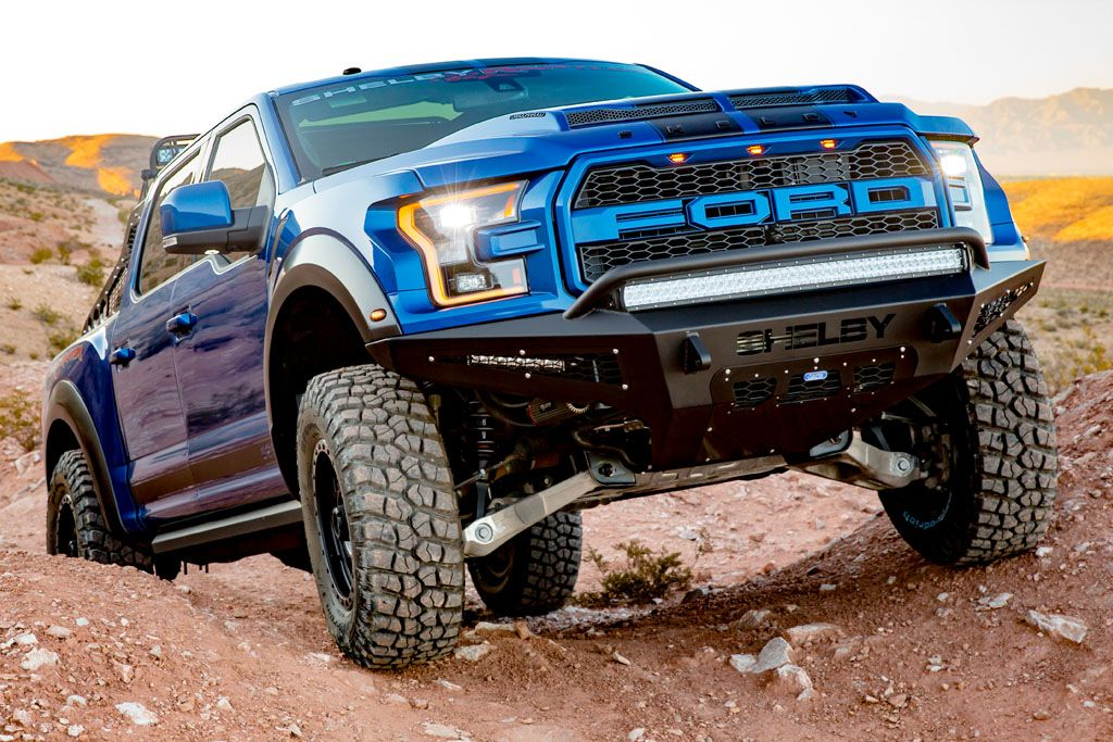 Shelby Baja Raptor Boasts f Road Tweaks And 525 HP