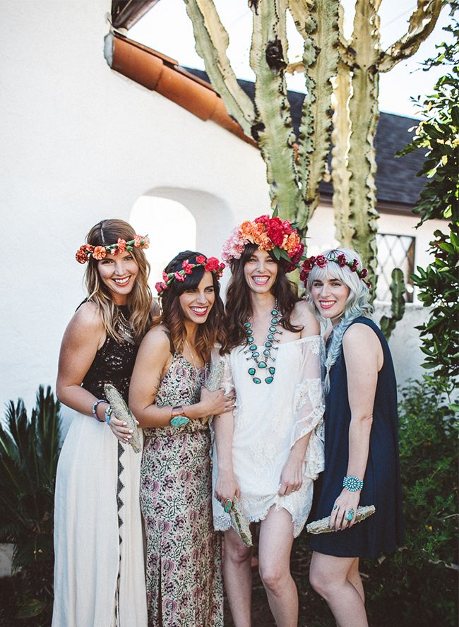 End of Summer Bohemian Backyard Party Hippie party