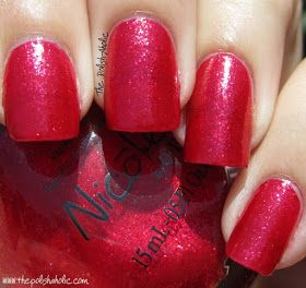 Nicole by OPI Fall 2011 Something About Color Target Exclusives; I Love You Cherry Much