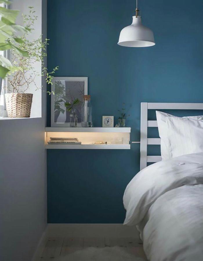 IKEA hacked two MOSSLANDA picture ledges to create a wall