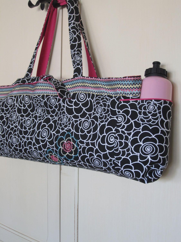 Reversible Yoga Mat Bag   Yoga Totes   Pinterest   Sportraum, Diy ...