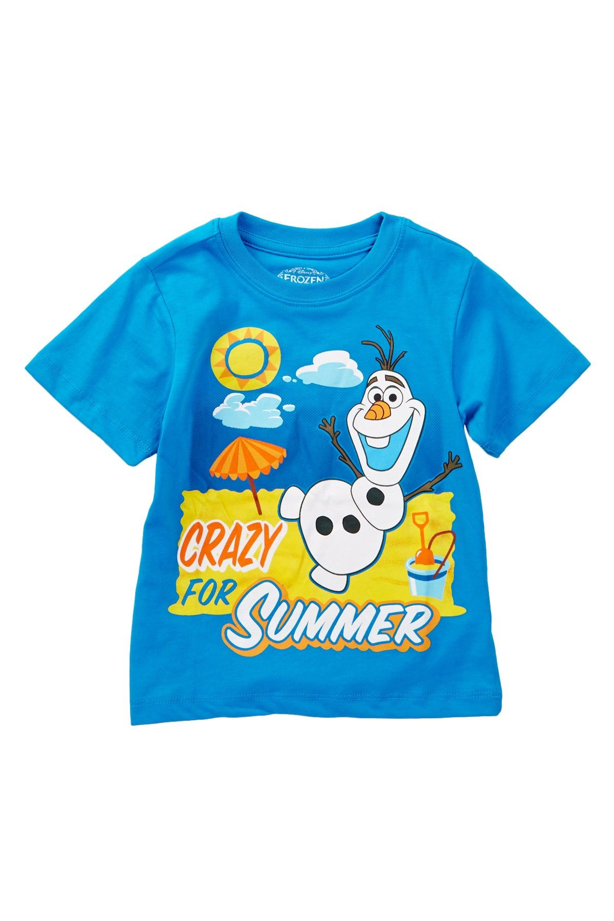 Baby Frozen Olaf Crazy for Summer Tee (Toddler