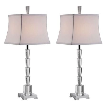 I pinned this tara accent lamp set of from the femme fatale event at joss and main