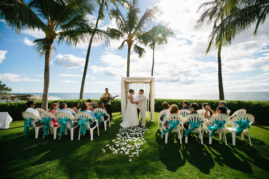 Paradise Cove Oahu Weddings Wedding