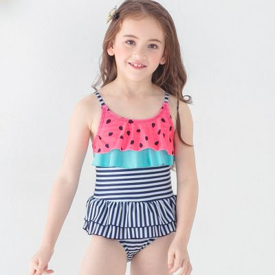 13f4e3f5c9a1 Children's Swimwear Handkerchief Elegant Full Of Trees Swimwear Fashionable  Children Lovely Cartoon One Piece Dress Type Swimwear 1862 |  Import-express.com