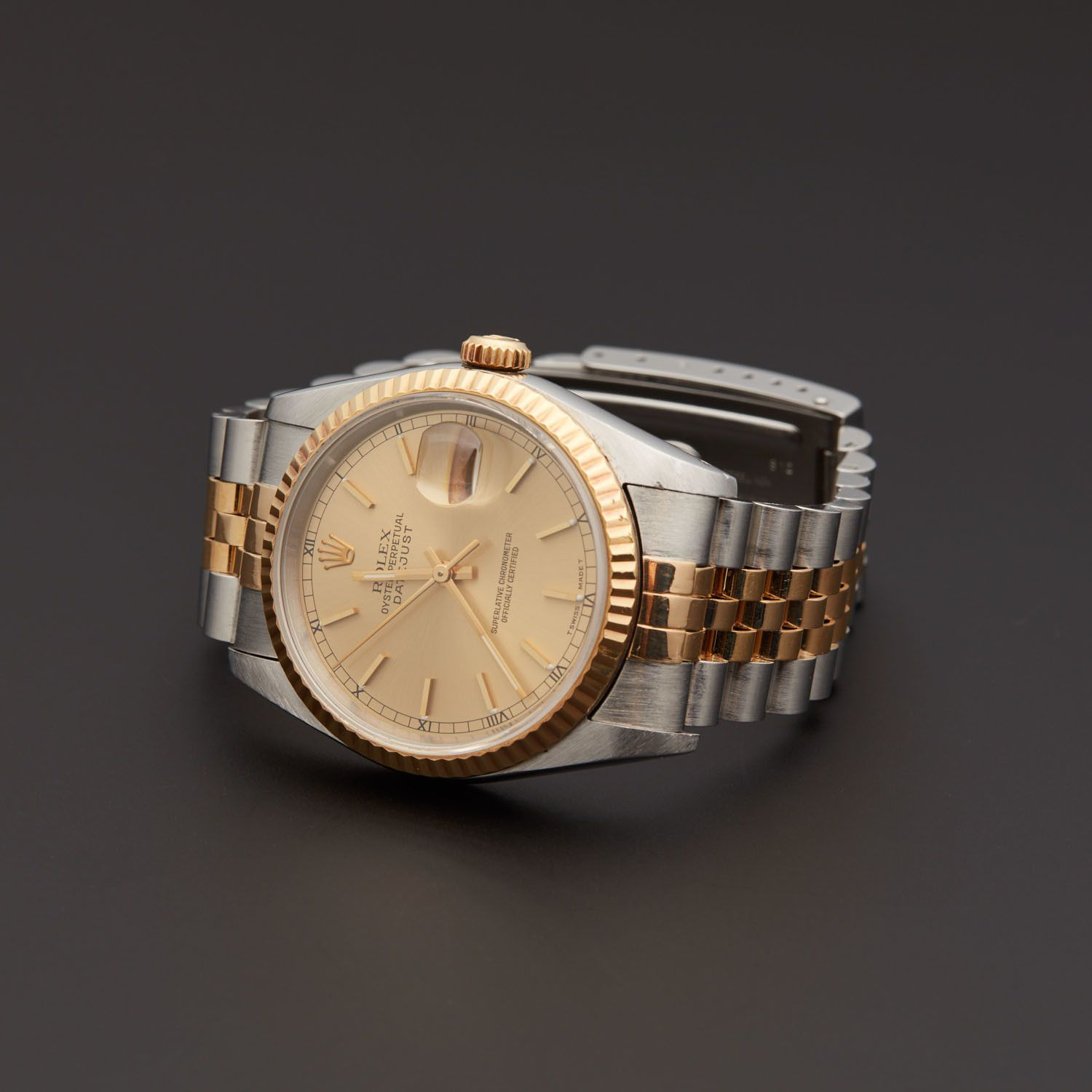 Rolex Datejust Automatic 16233 1690756 Pre Owned Launched Rolex Inaugural Datejust Rolex Datejust Rolex Datejust