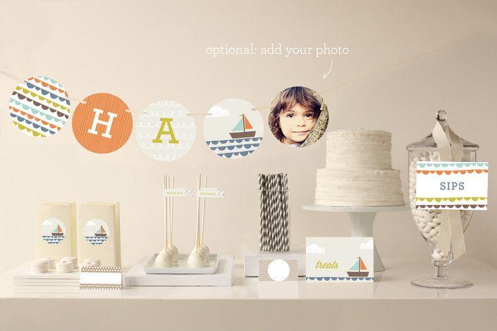 1st Birthday Party aptly named  - fresh birthday party invitation designs