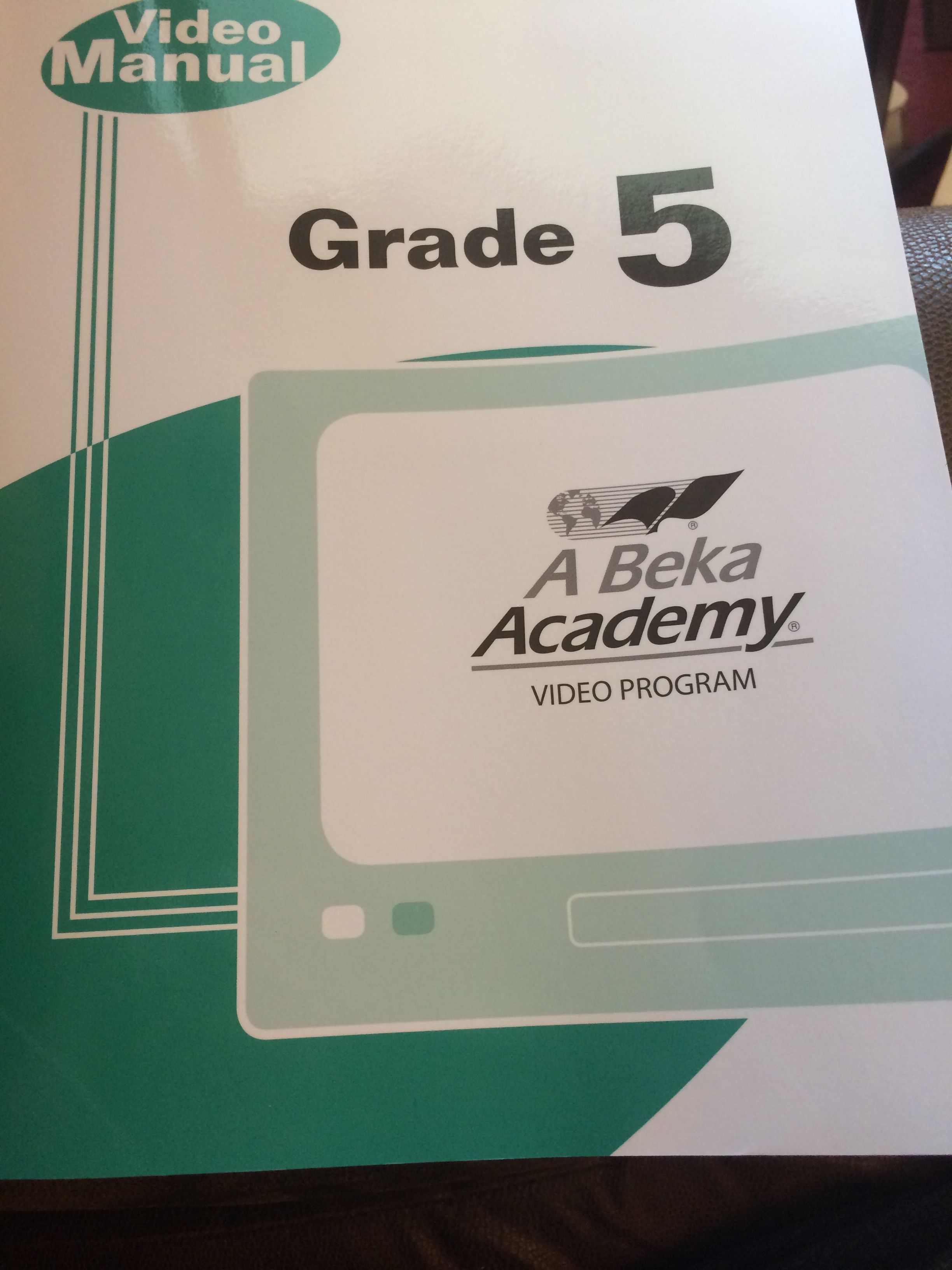 5th Grade Abeka Dvd School