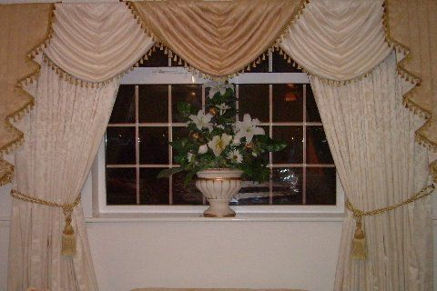 Designer Curtains Swag And Tails Fully Lined No Extra Costs