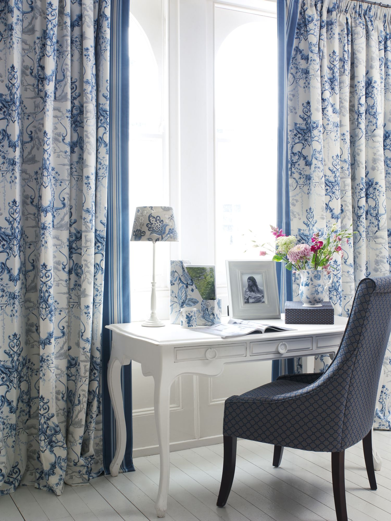 Window dressing ideas for arched windows  bellevue prints weaves collections by blendworth interiordesign