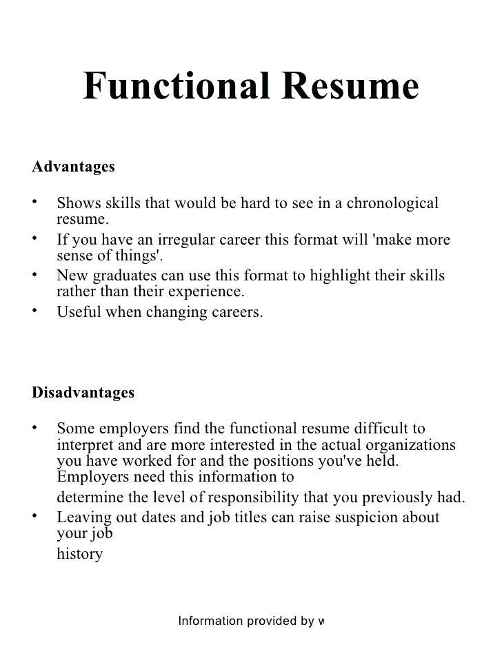 Advantages Of Resume Templates Chronological Resume Template Chronological Resume Resume Templates