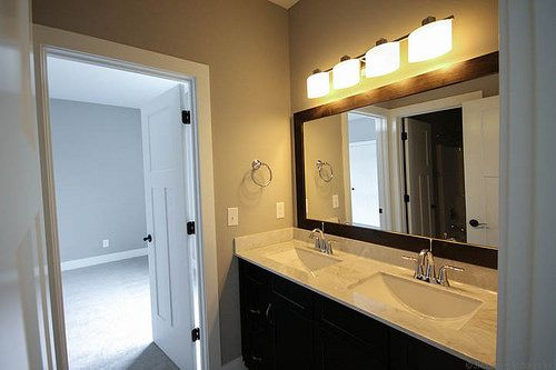 Prestwick Jack and Jill bathroom with double vanity.