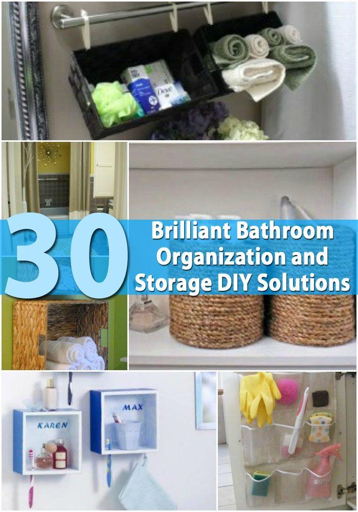 Brilliant bathroom organization and storage diy solutions the bathroom