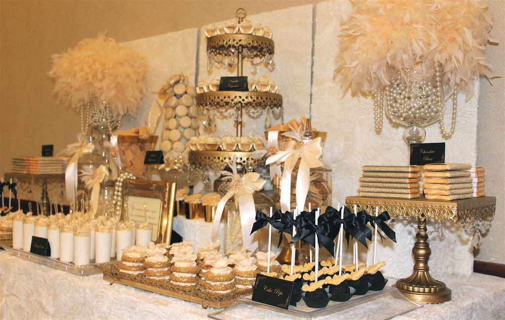 Old Hollywood Glam Wedding Party Ideas Photo 1 Of 16