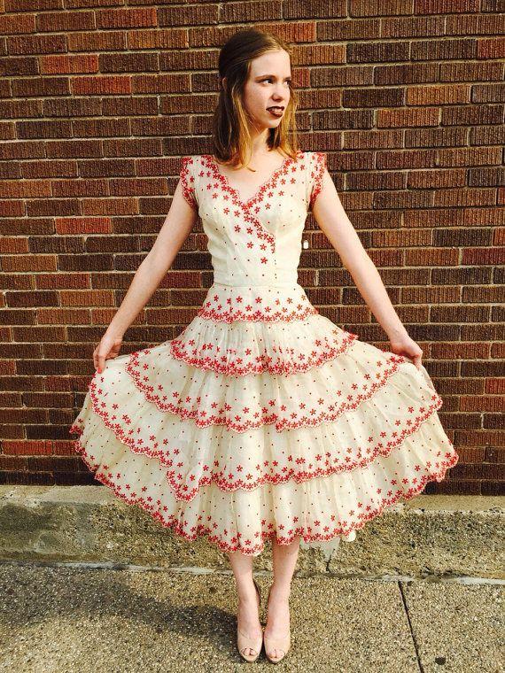Geen lagen op de Tea Party begin 1900 jurk door BlueVelvetDetroit
