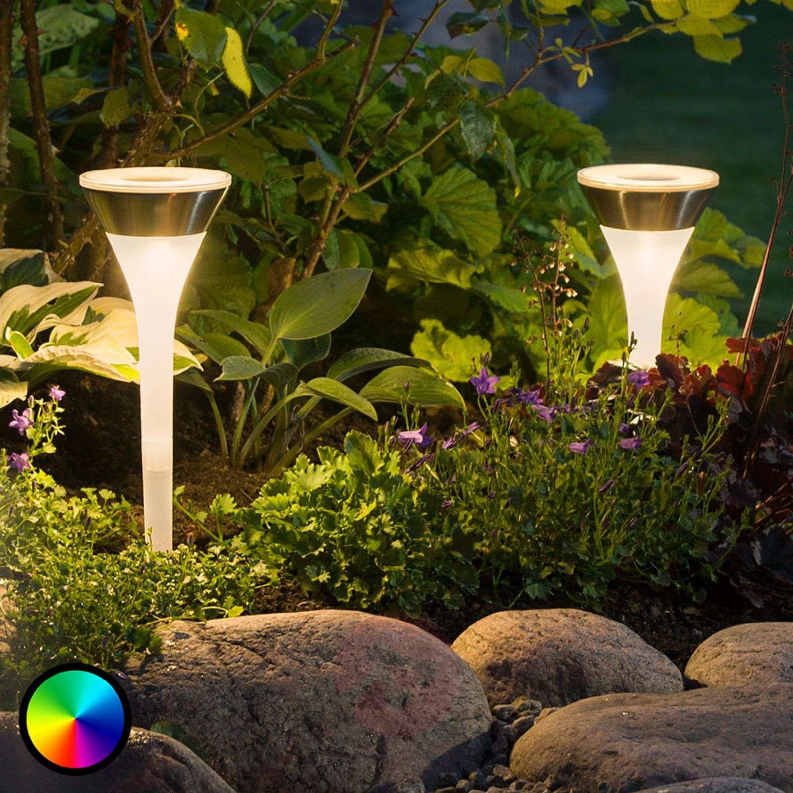 lampy ogrodowe wbijane w ziemie