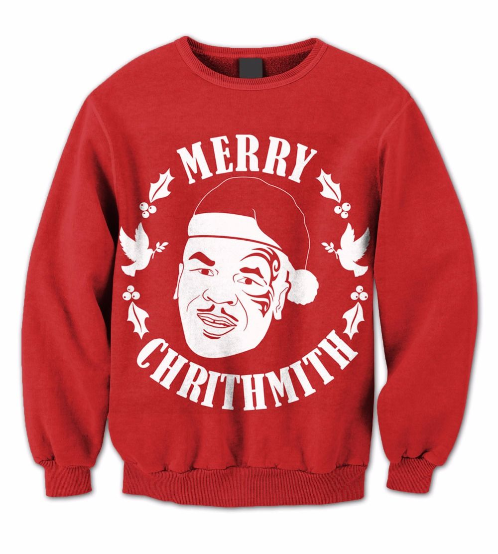 click to buy - Merry Christmas Mike Tyson