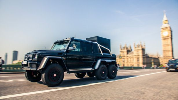 first drive the brabus 6x6 takes on london bbc top gear firstfirst drive the brabus 6x6 takes on london bbc top gear