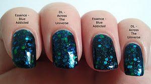 Dupe: Deborah Lippmann - Across The Universe vs. Essence - Blue Addicted.