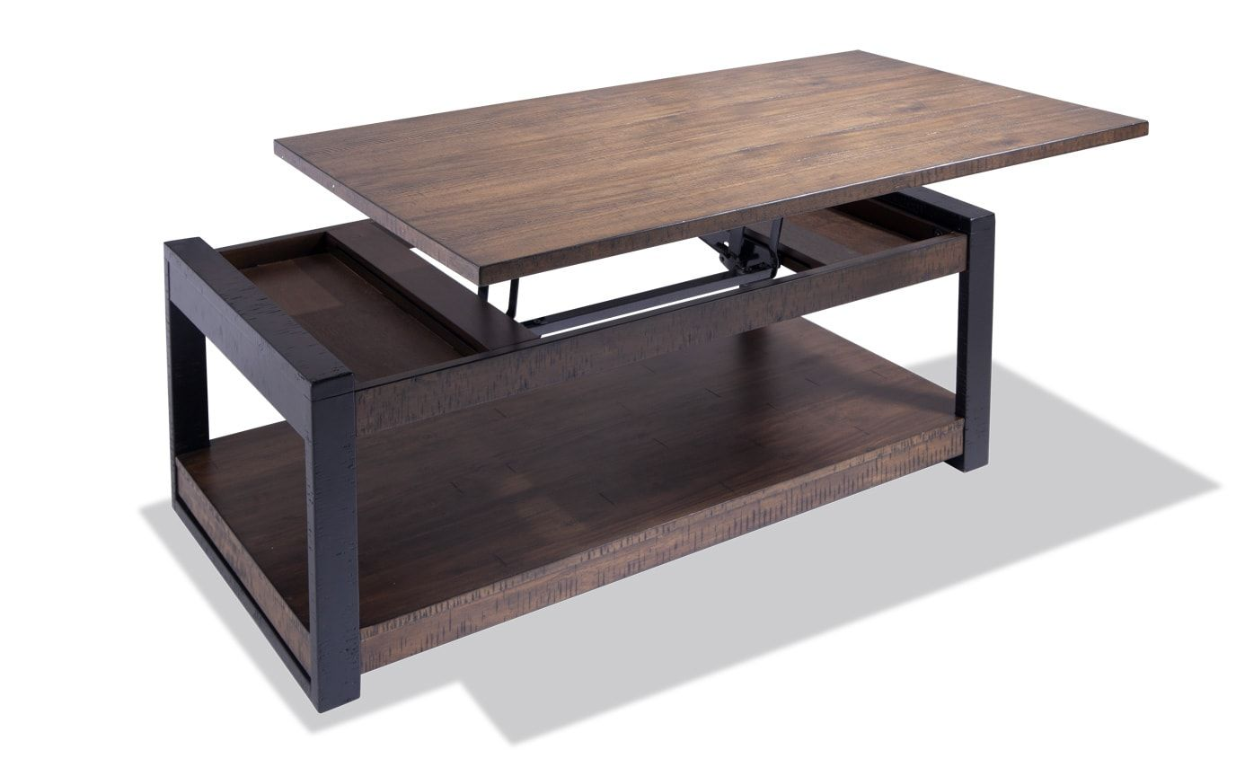 Carson Lift Top Coffee Table Coffee Table Coffee Table Setting Large Coffee Tables [ 864 x 1376 Pixel ]