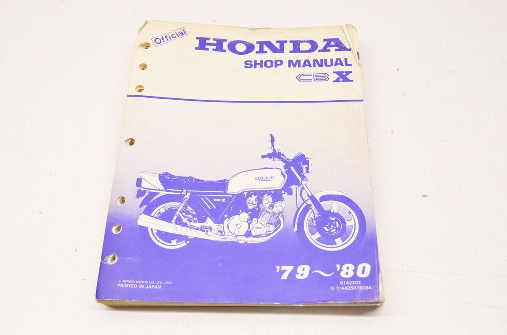 Oem Honda Shop Manual 79 80 Cbx Ebay Motors Parts Amp Accessories Manuals Amp Literature Ebay Honda Vintage Honda Motorcycles Oem