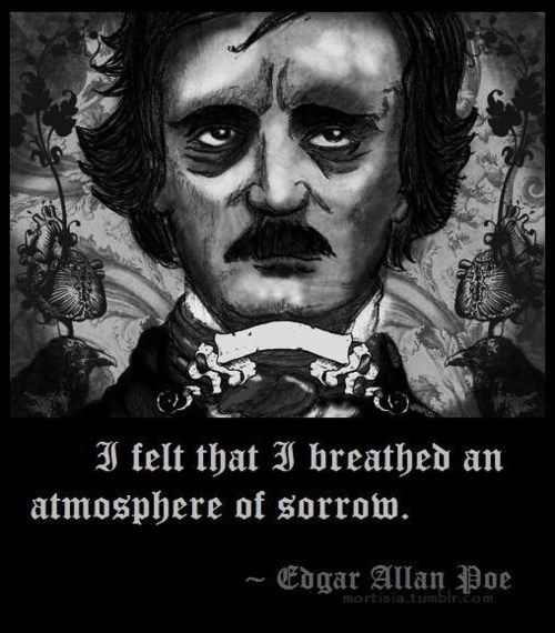 Poemas Corazon Delator Edgar Allan Poe Frases Edgar Allan Poe No Deeper Thinker Than This Man Feels It All