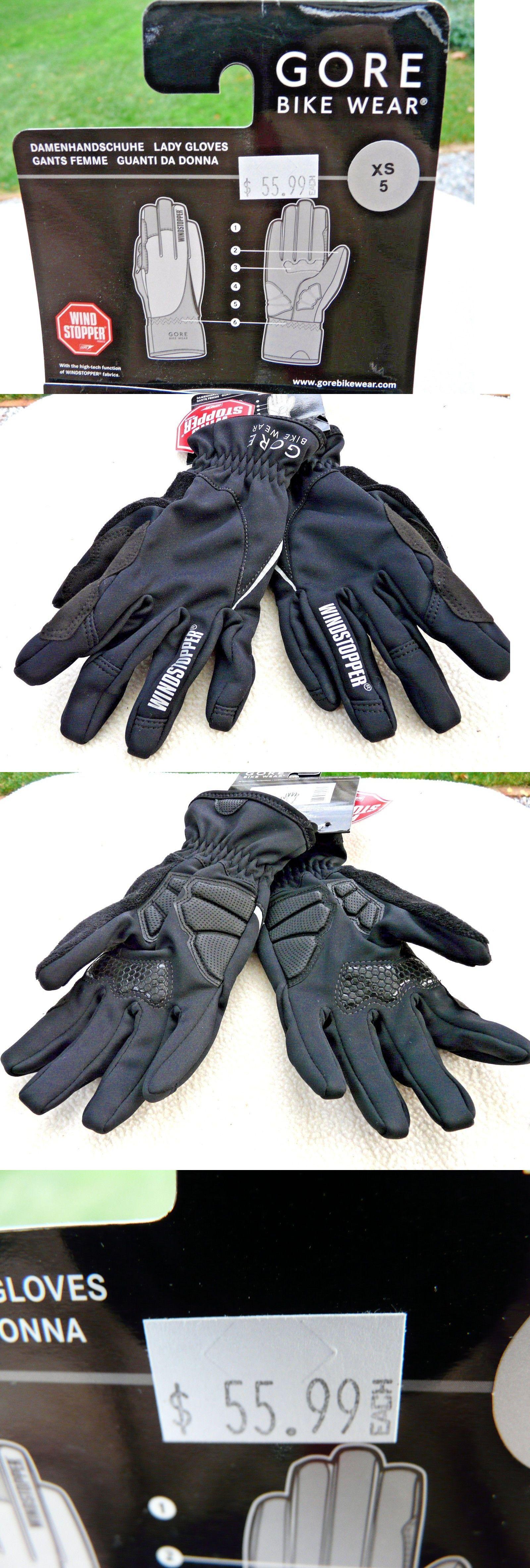 Gloves gore bike wear ladies power soft padded windstopper