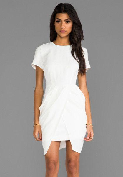 Keepsake White Wild Thing Dress in White