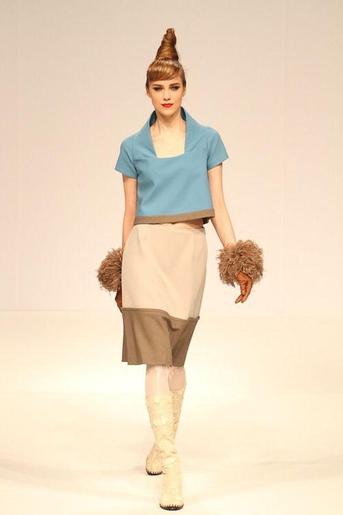 Cool Chic Style Fashion: Yukiko Hanai Fall/Winter 2012 | 13 - mbfashionweek Tokyo