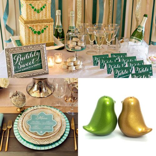 wedding green -  #decor