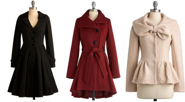 dressy winter coats, winter wedding fashion, winter bride, winter ...